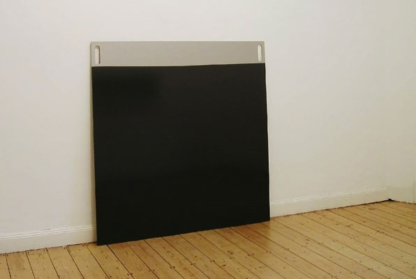 Rainer Splitt Tafel Umbra Grau 2005